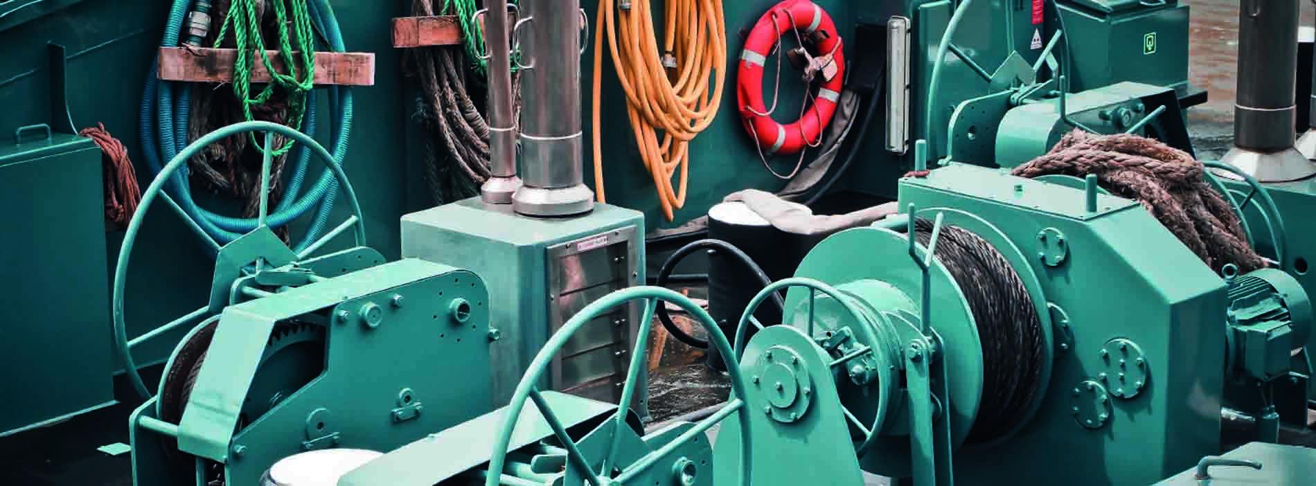 maquina de buque